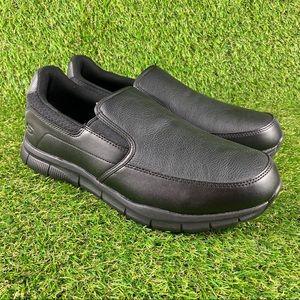 Skechers Nampa Groton Memory Foam Slip Resistant